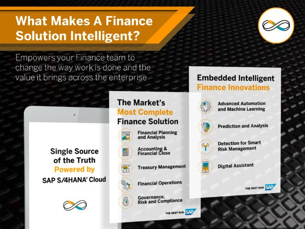 Image of What Makes a Finance Solution Intelligent infosheet