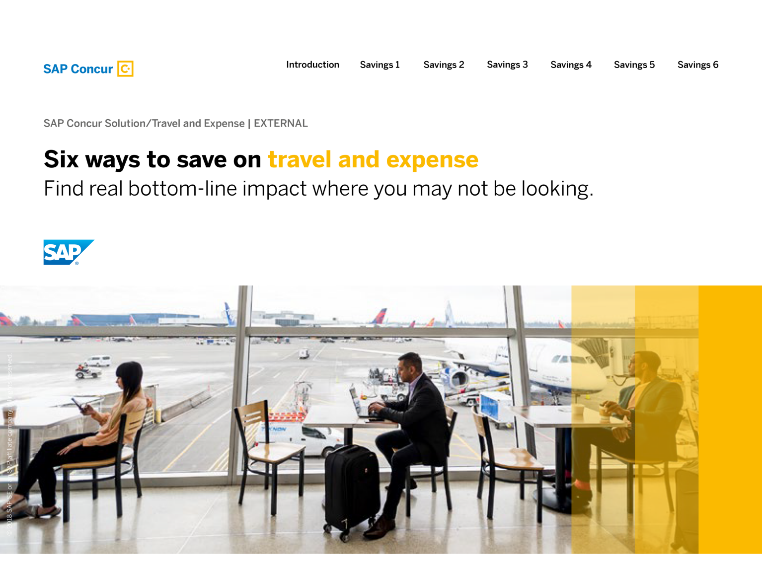 travel and expense management | finance | sap
