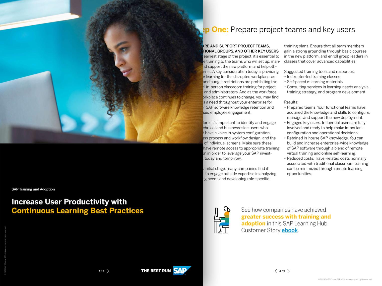 Continuous Learning Framework From Sap