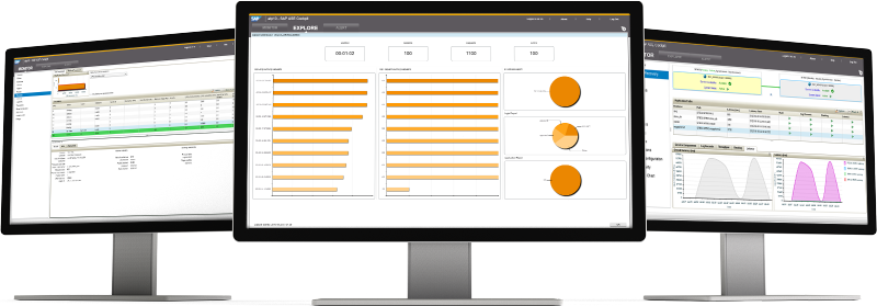 Screenshots of SAP Adaptive Server Enterprise software