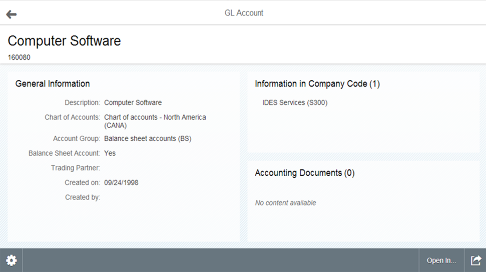 SAP Core Finance in SAP ERP