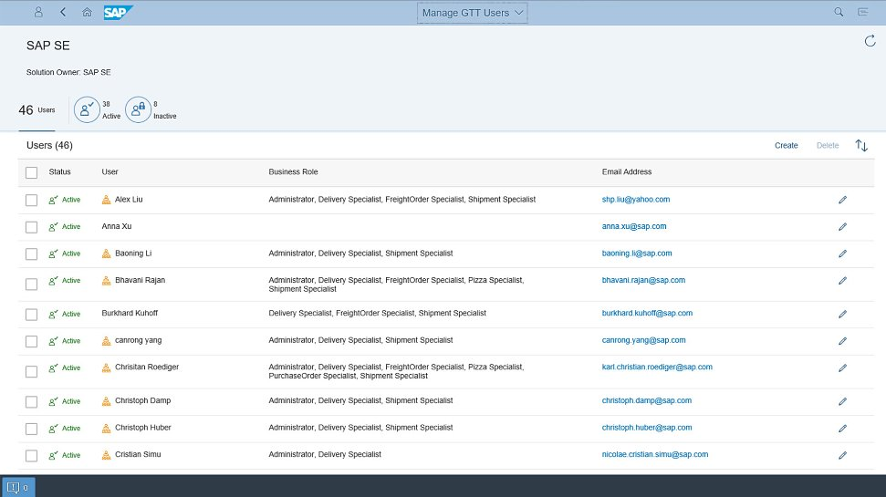 Screenshot of process compliance in carrier collaboration functionality in SAP Global Track and Trace