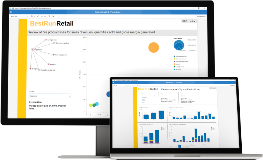 SAP Lumira - agile visualizations for everyone