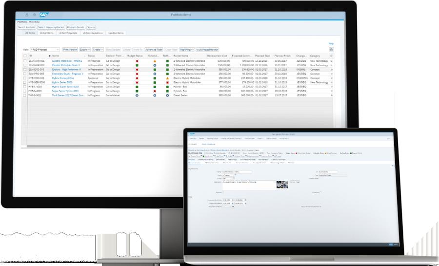 Project Portfolio Management Ppm Software Sap