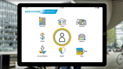 Screenshot aus einem Video zu SAP Cloud for Insurance