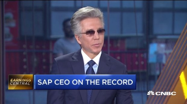 Bill McDermott on CNBC Sqawk-Box