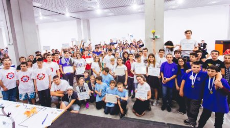 Group of participants of Robots for Bulgaria