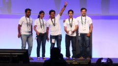 DemoJam Winners at TechEd Bangalore