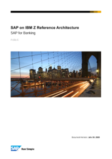 SAP for Banking on IBM Z Reference Architecture