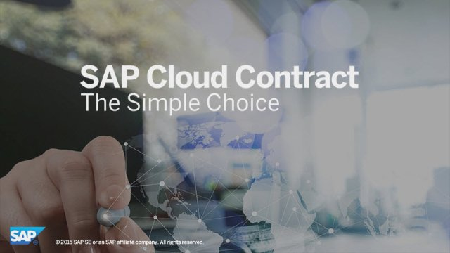 Video on cloud contracts.